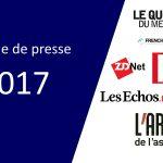 Revue de presse & médias 2017