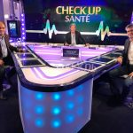 Georges Aoun et Florian Reinaud sur le plateau de BFM Business