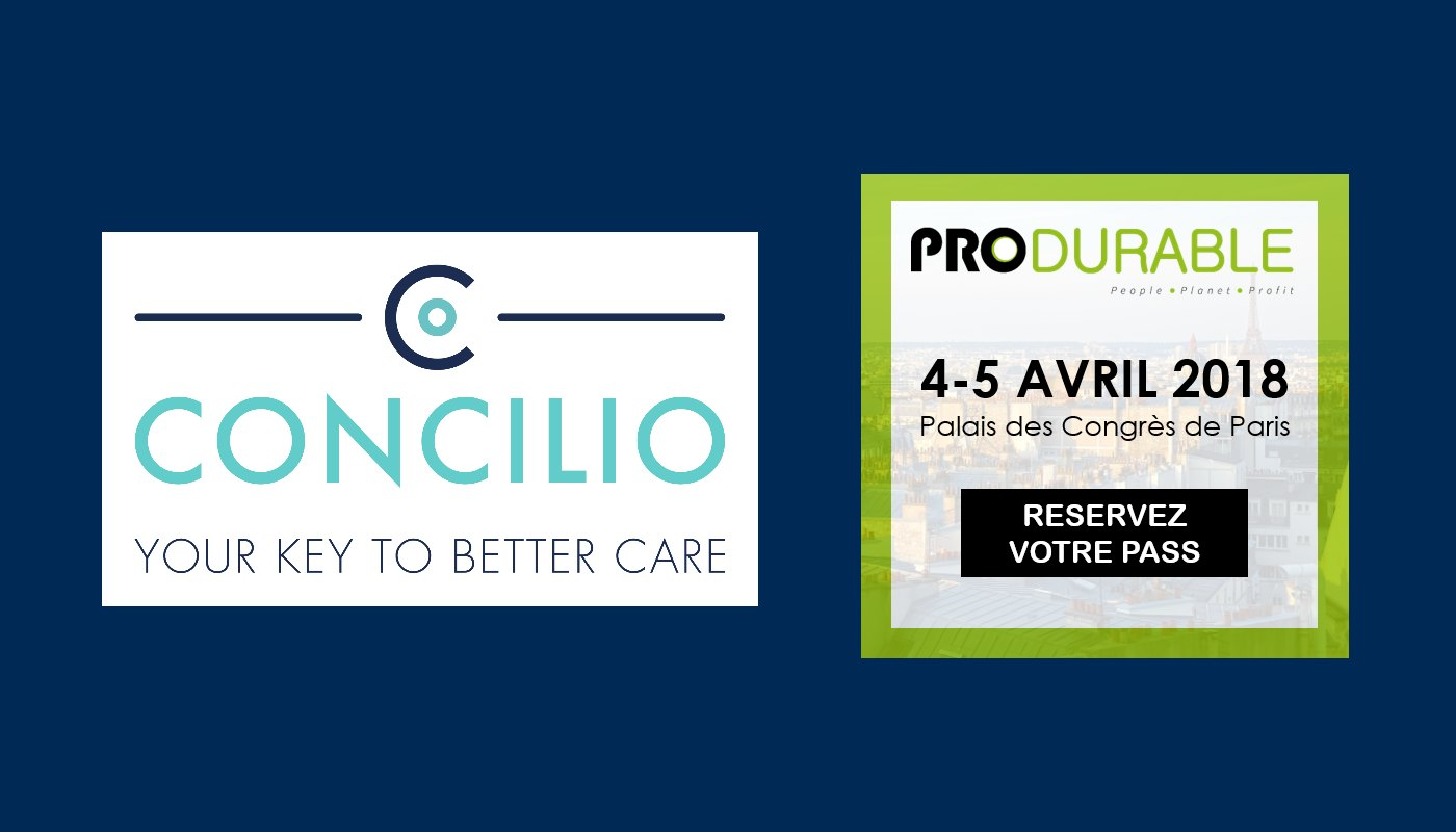 Concilio au salon PRODURABLE 2018