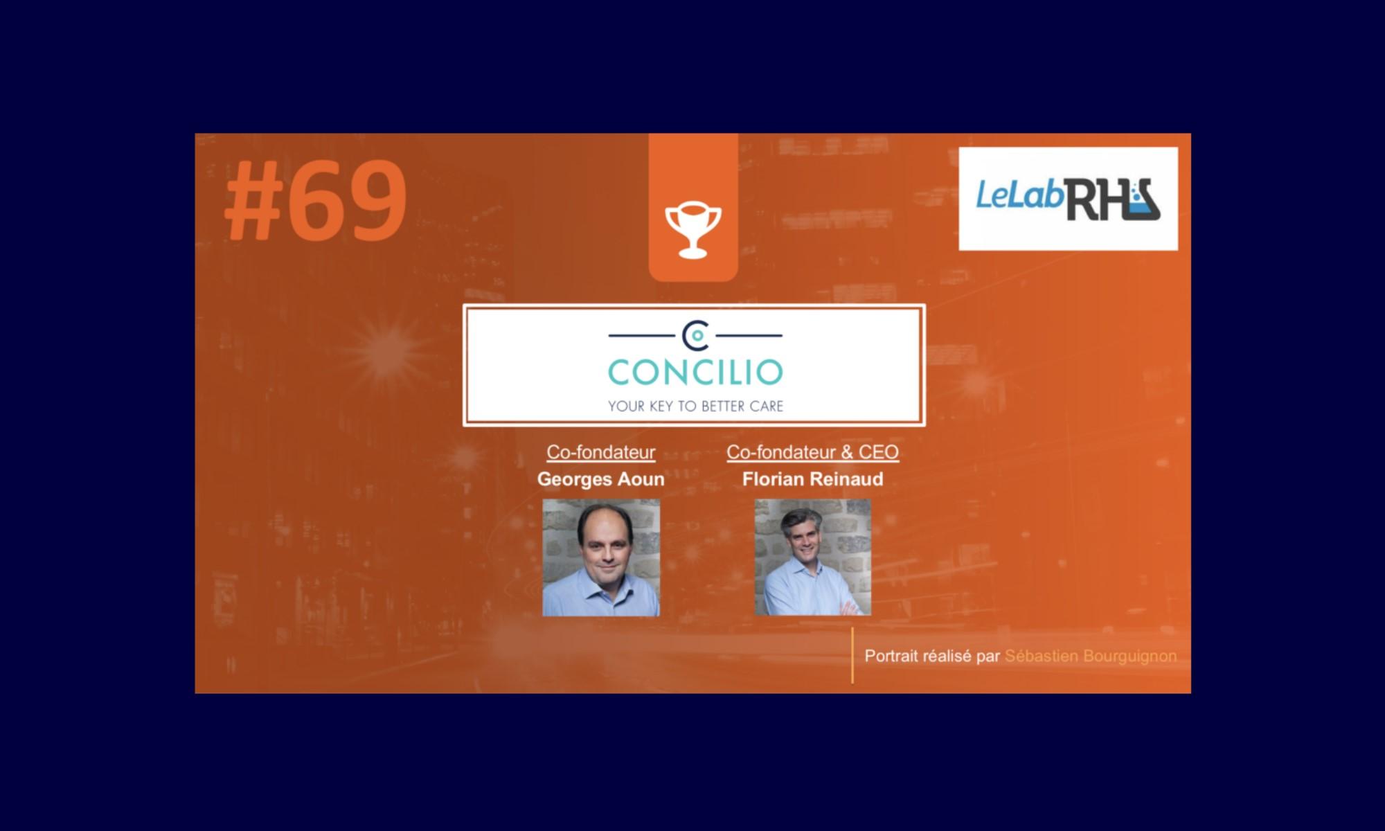 PortraitDeStartuper – Concilio – Florian Reinaud & Georges Aoun
