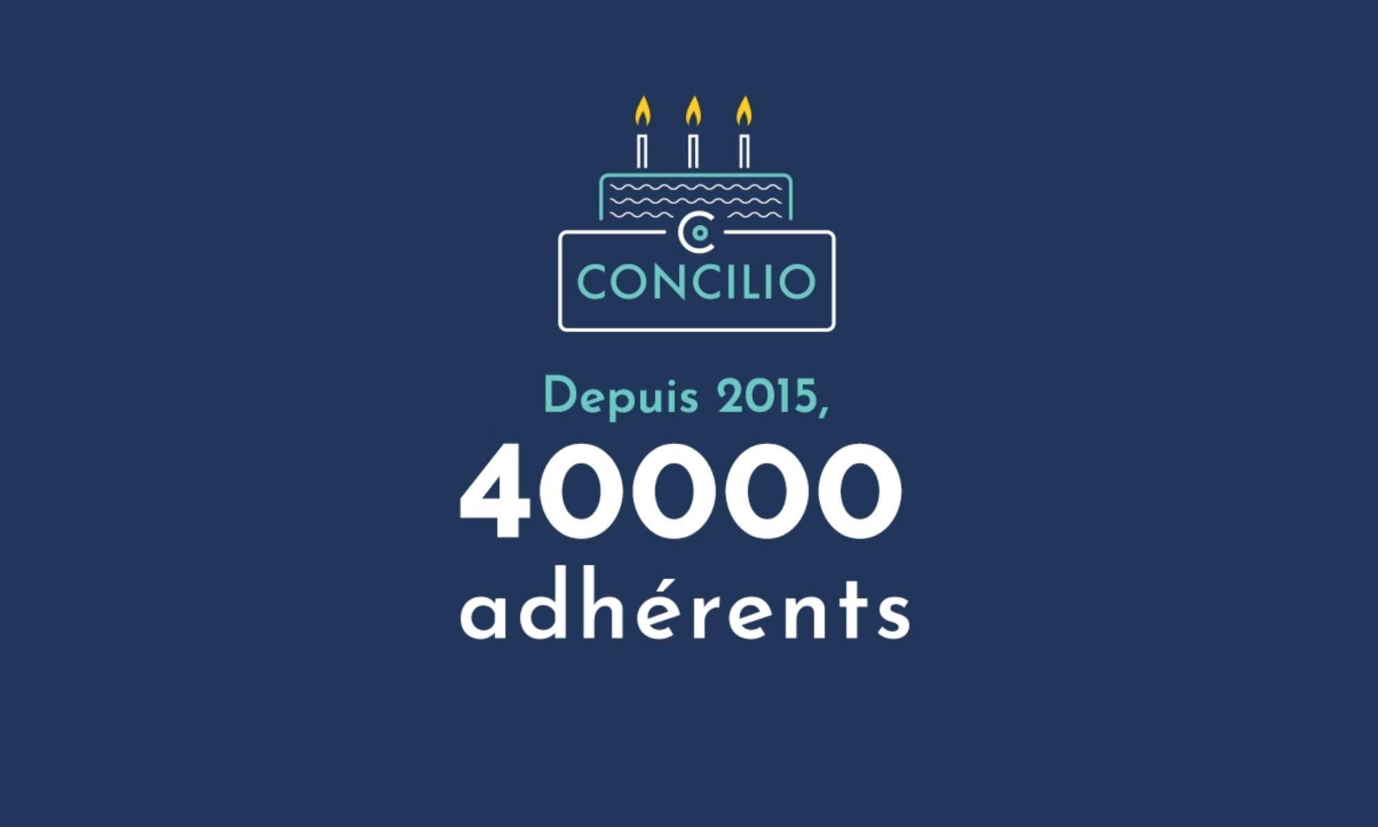 Concilio fête ses 3 ans !!