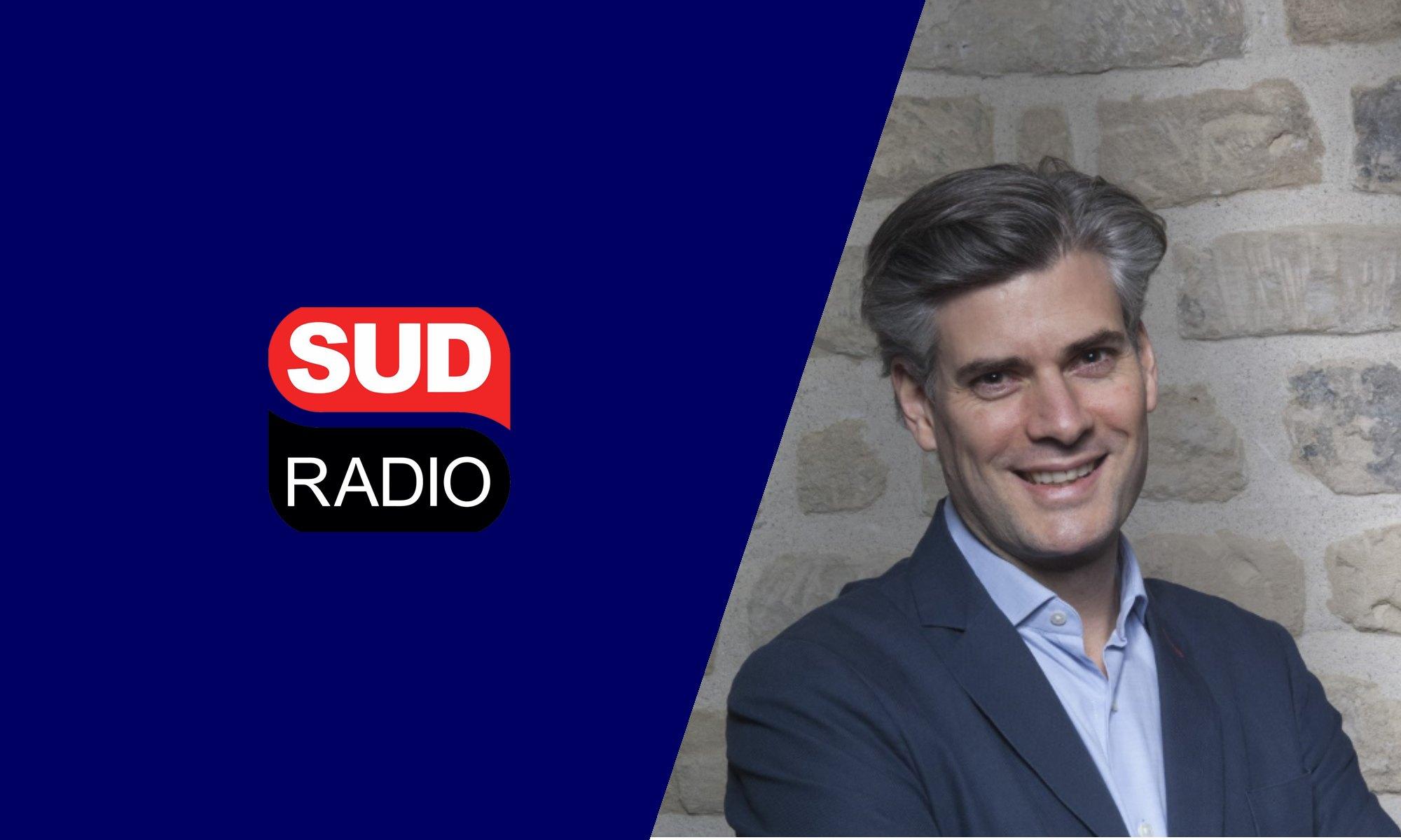Notre co-fondateur Florian Reinaud en interview sur Sud Radio