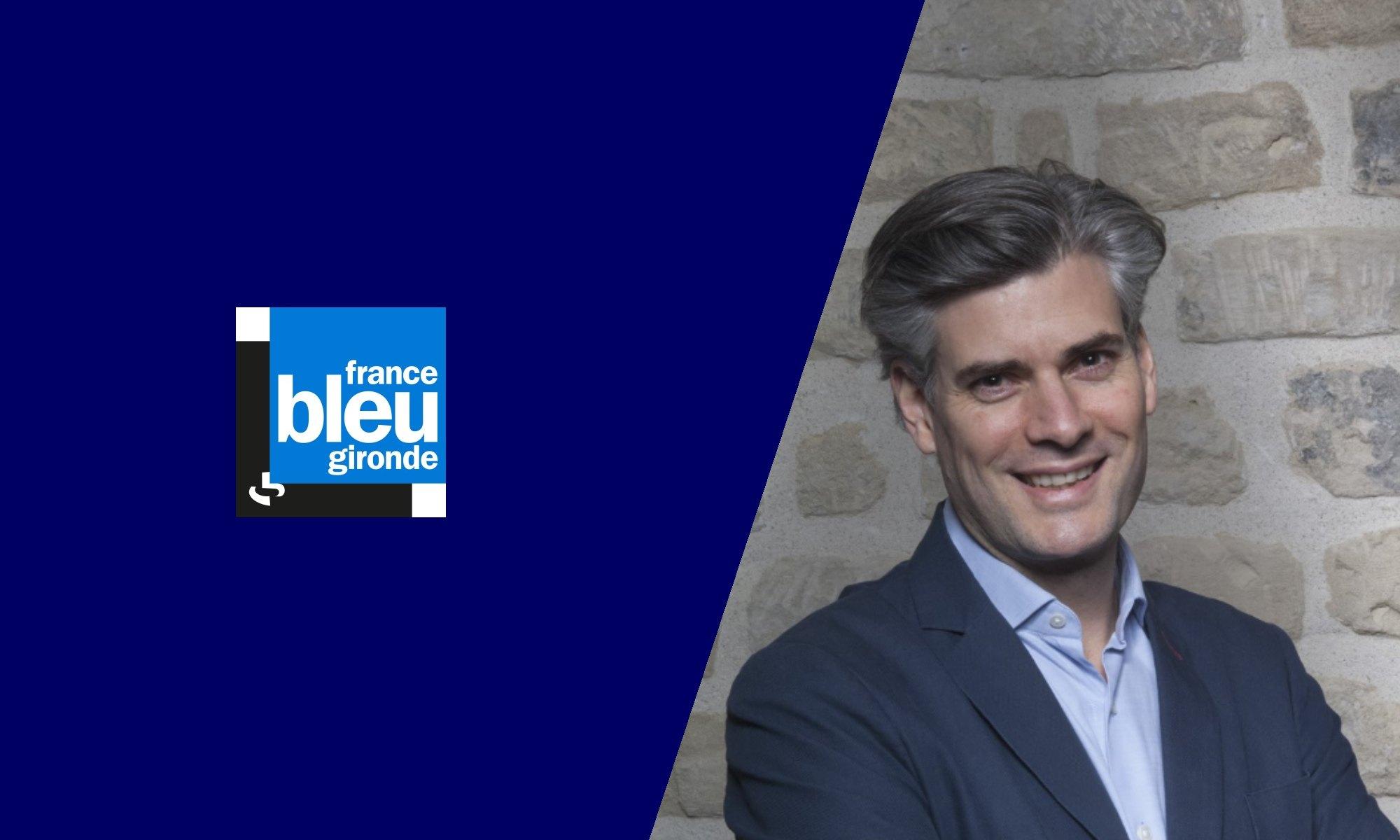 Florian Reinaud en interview sur France Bleu Gironde