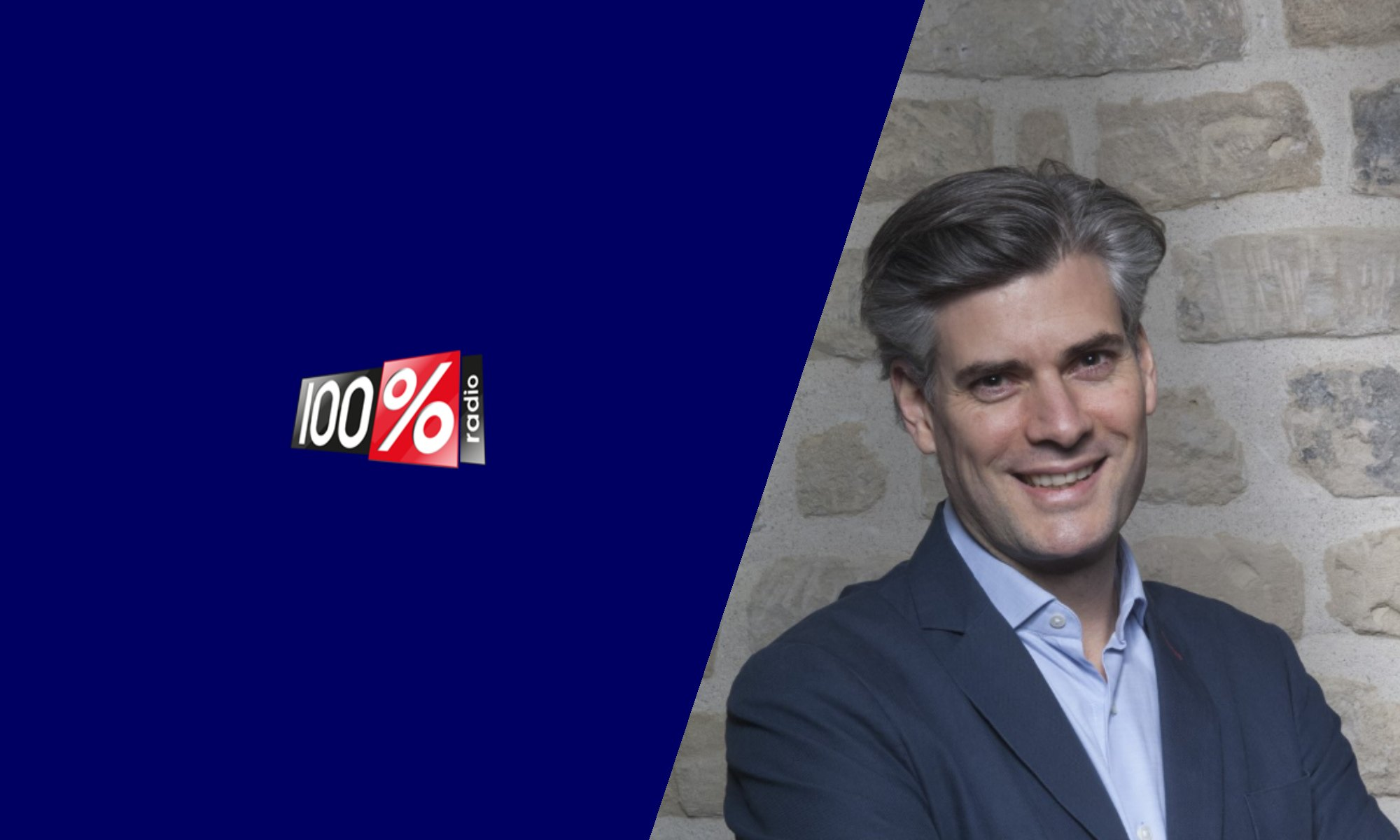 Florian Reinaud en interview sur 100% Radio