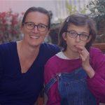 Zoé, illustratrice et blogueuse, mère de Rose, ado polyhandicapée