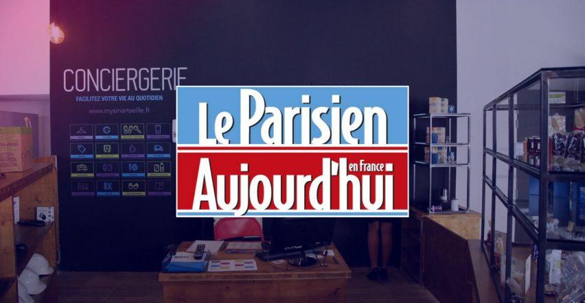 [Article Le Parisien – Aujourd'hui en France] Avec des conciergeries, ces entreprises rendent service à leurs salariés