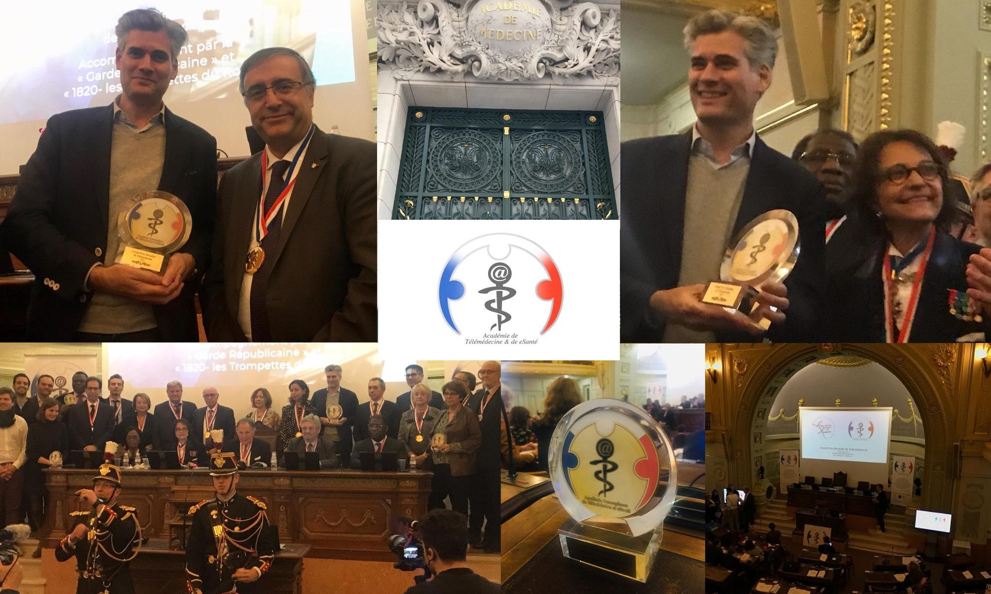 Concilio remporte le Grand Prix Mondial de la Télémédecine