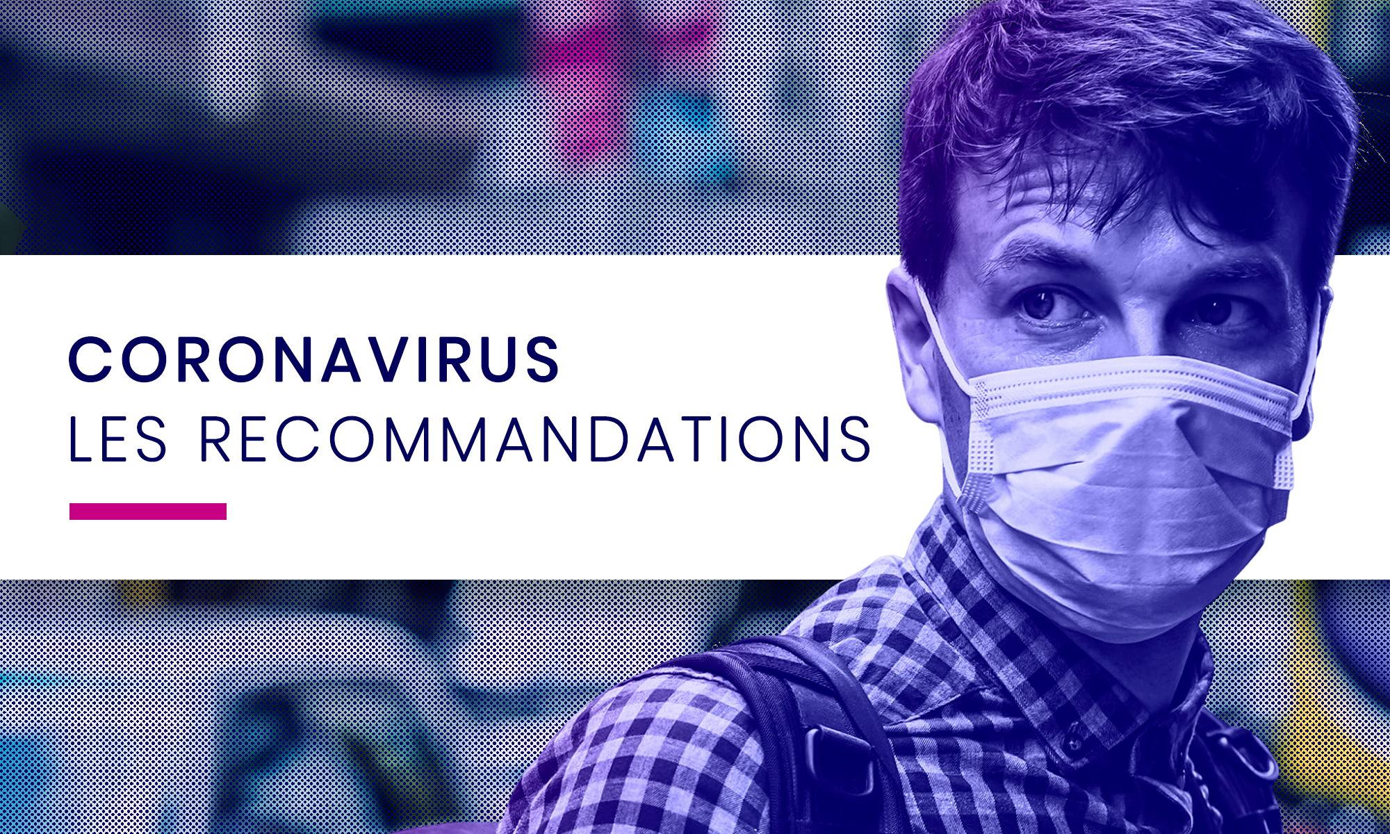 Coronavirus les recommandations - Concilio