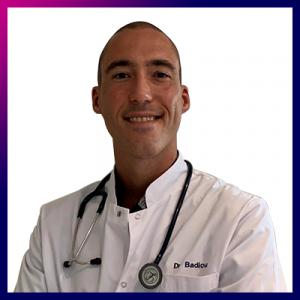 Docteur Guillaume Badiou, médecin généraliste en téléconsultation pour Concilio