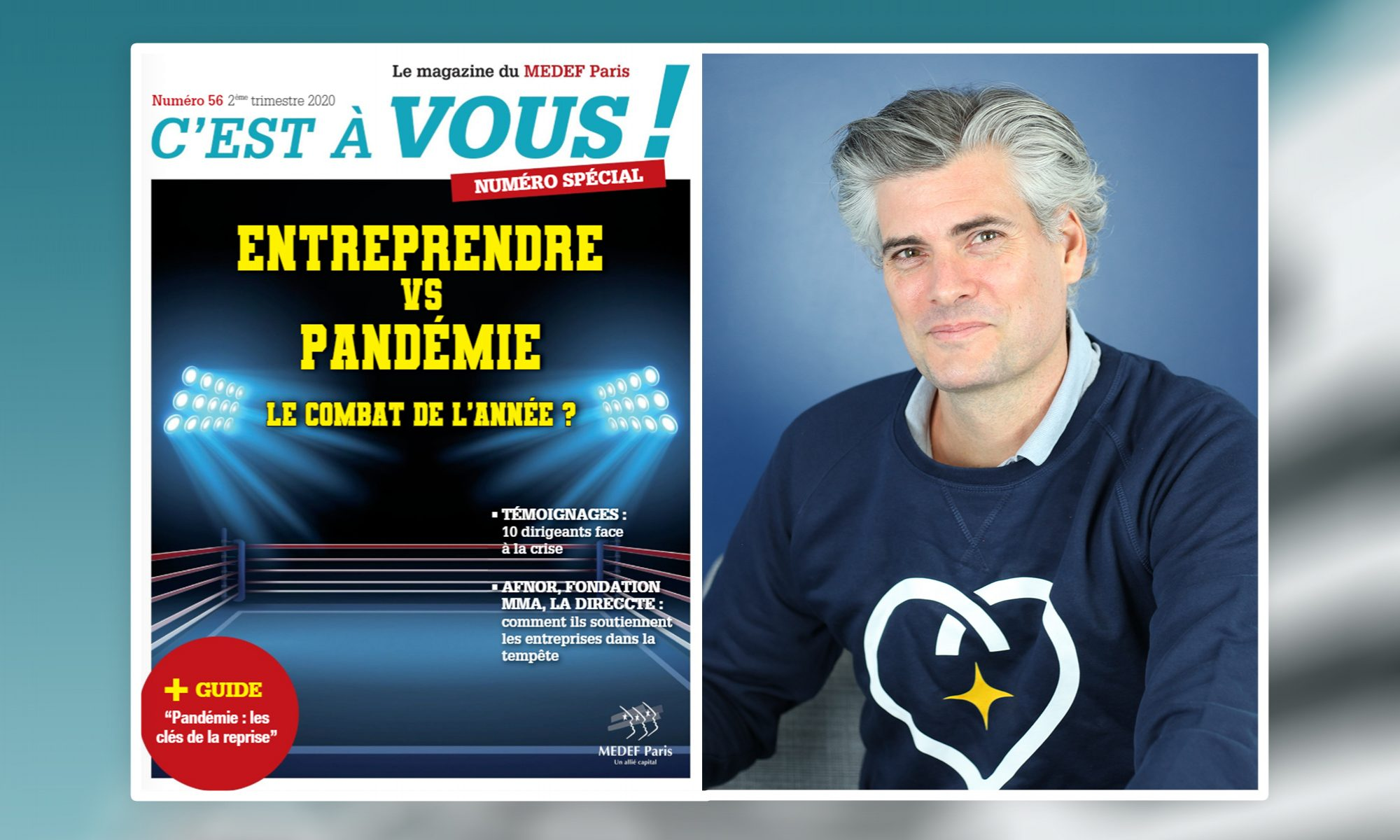 Interview de Florian Reinaud - Concilio - Confinement - Covid-19 - FR MEDEF PARIS MAGAZINE