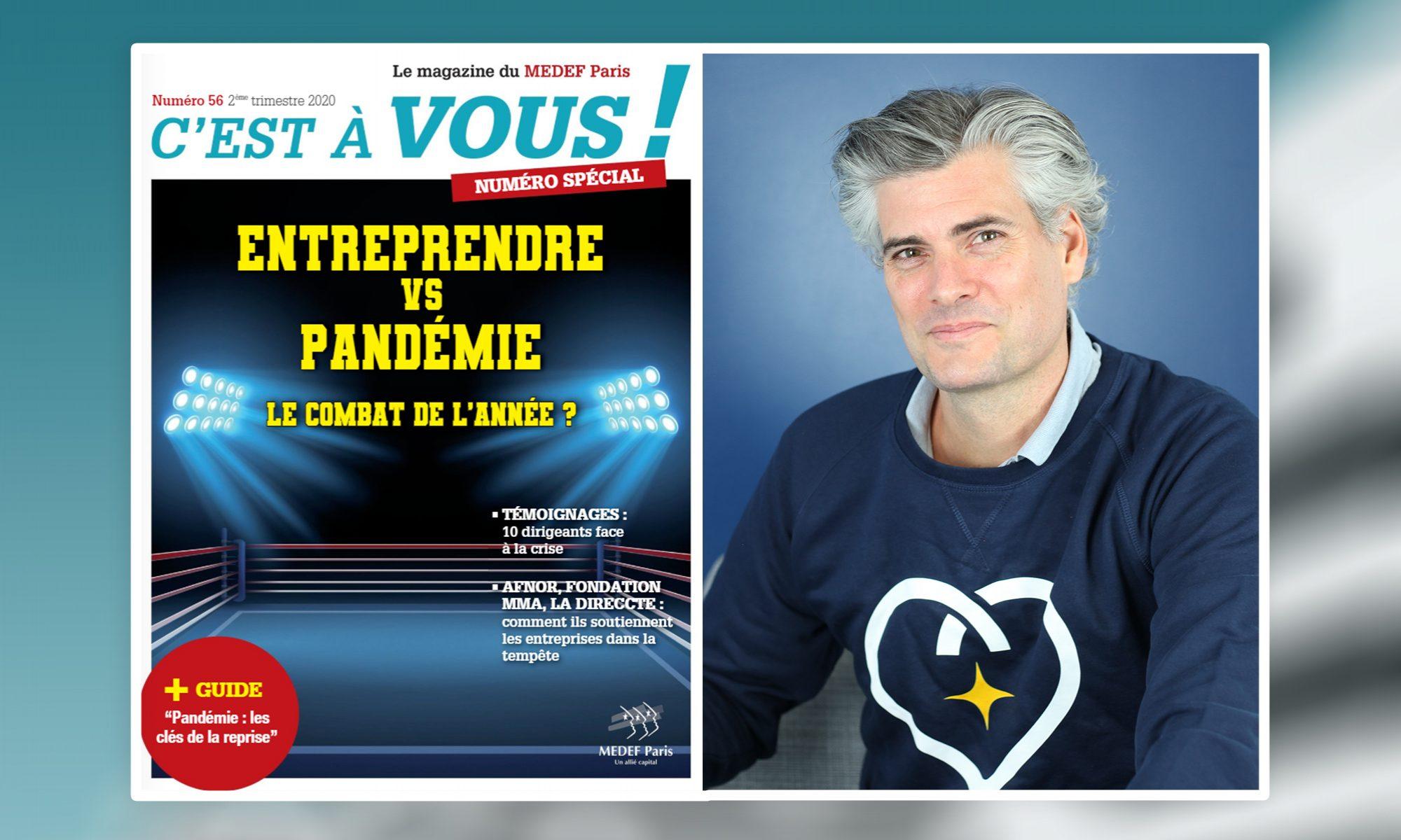 Interview de Florian Reinaud - Concilio - Confinement - Covid-19 - FR MEDEF PARIS MAGAZINE