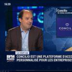 Georges Aoun en interview sur BFM Business dans l'émission 01 Business