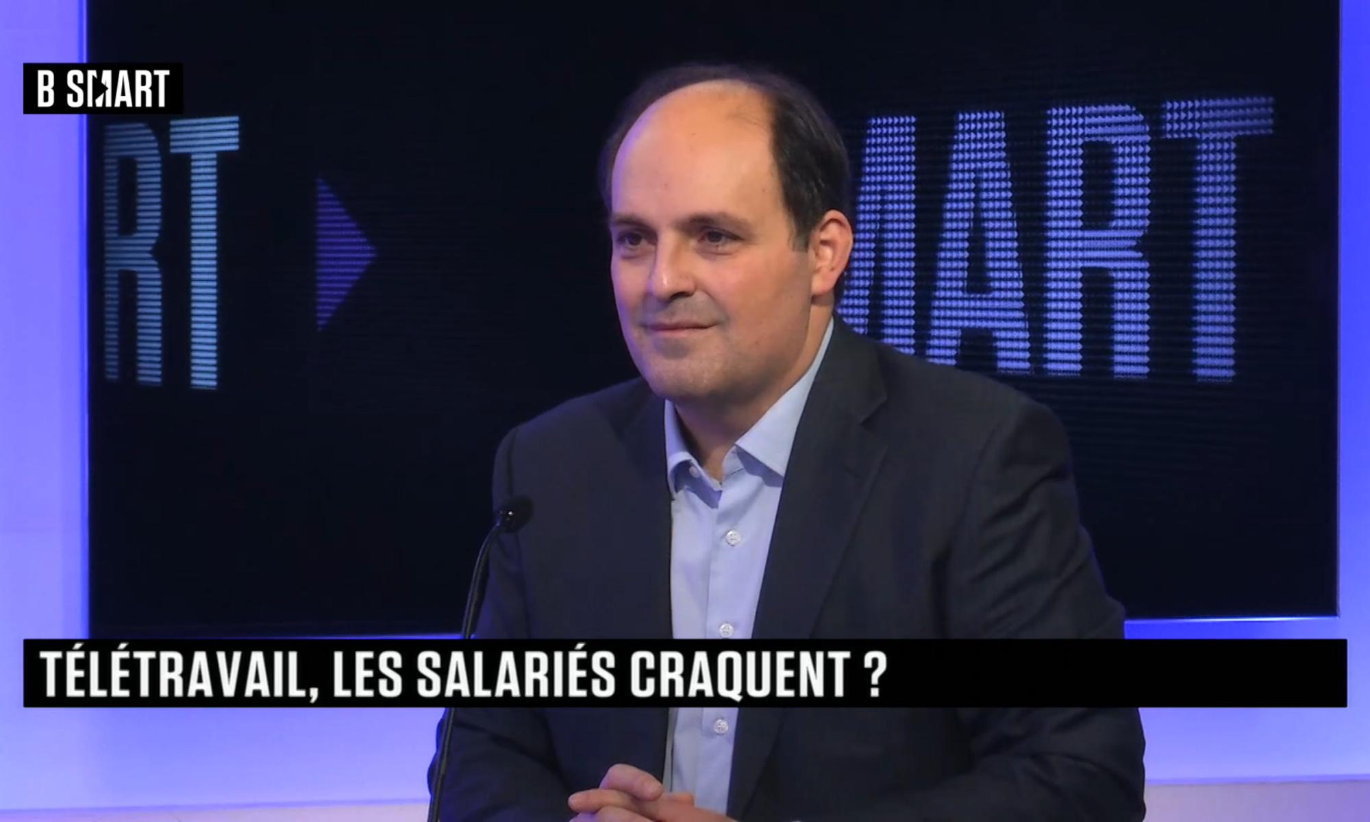 """Georges Aoun cofondateur de Concilio en interview sur B SMART """"Télétravail, les salariés craquent ?"""""""