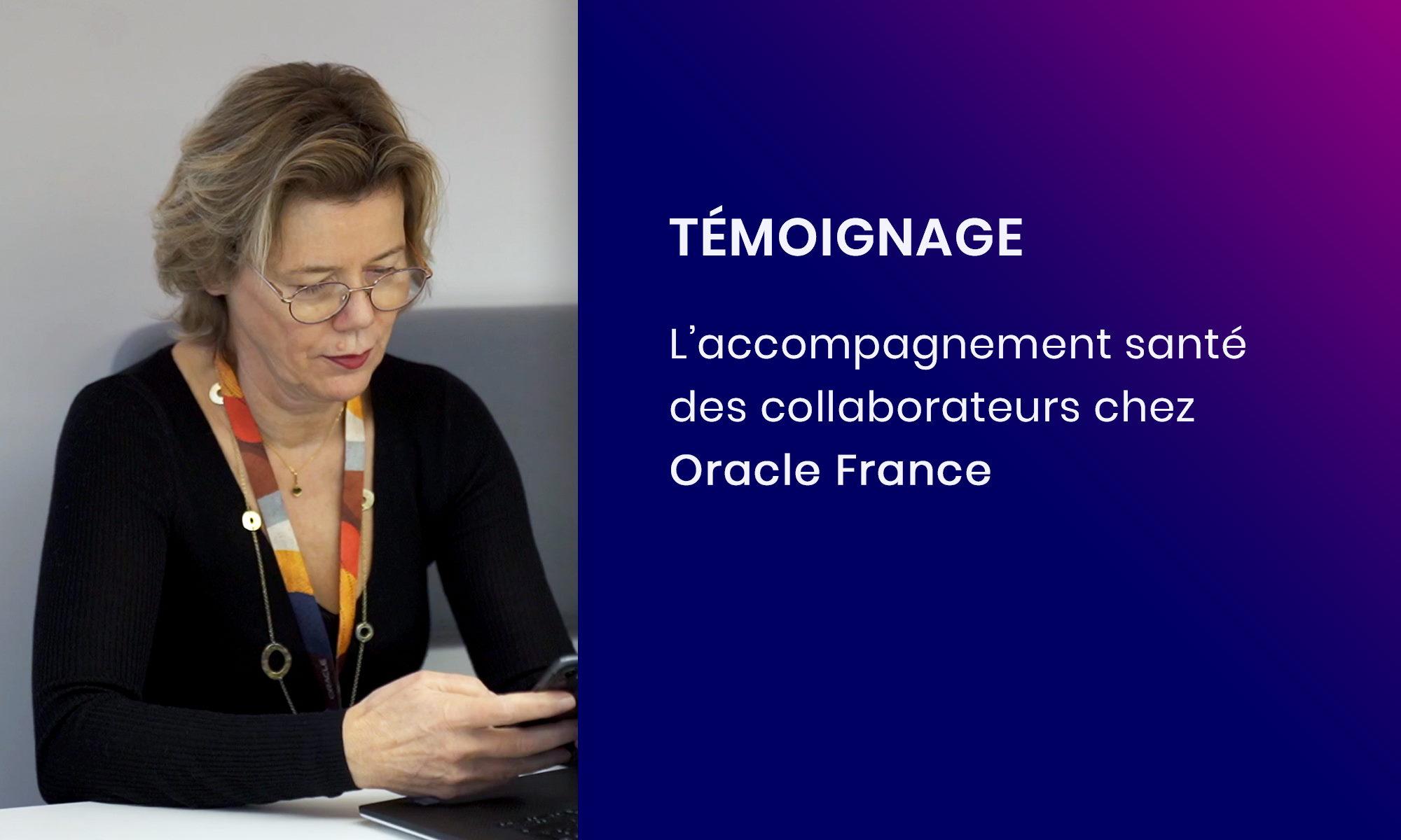 Témoignage : L'accompagnement santé Concilio pour Oracle France